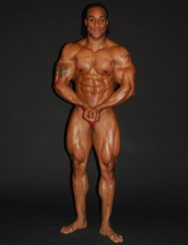 Bodybuilder Jeff Beckham