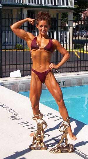 Female Bodybuilder Jean Jitomir