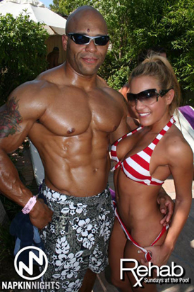 Male Bodybuilder Carl Mathews