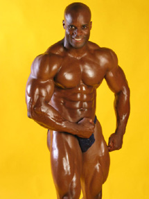 Morris Mendez Bodybuilding Stage Studio Flexing Fitness Studio Show Photos