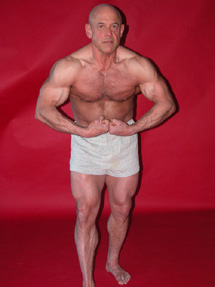 Bodybuilder Peter Saccone