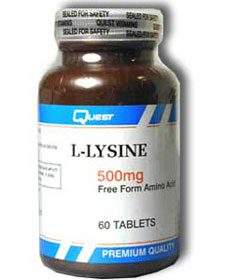 L-Lysine Facts and Information