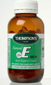 Vitamin E Facts and Information