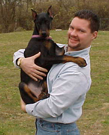 Writer Doberman Dan