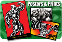 Muscle Bodybuilding prints and posters
