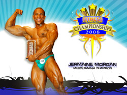 2008 Fitness Atlantic Champ Jermaine Morgan Wallpaper