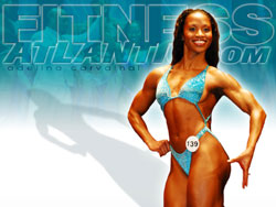 2007 Fitness Atlantic Wallpaper of Adelina