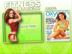 2008 Fitness Atlantic Wallpaper of Alicia Marie