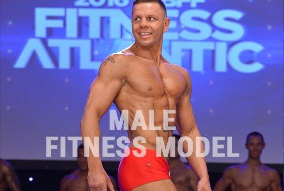 male fitness model