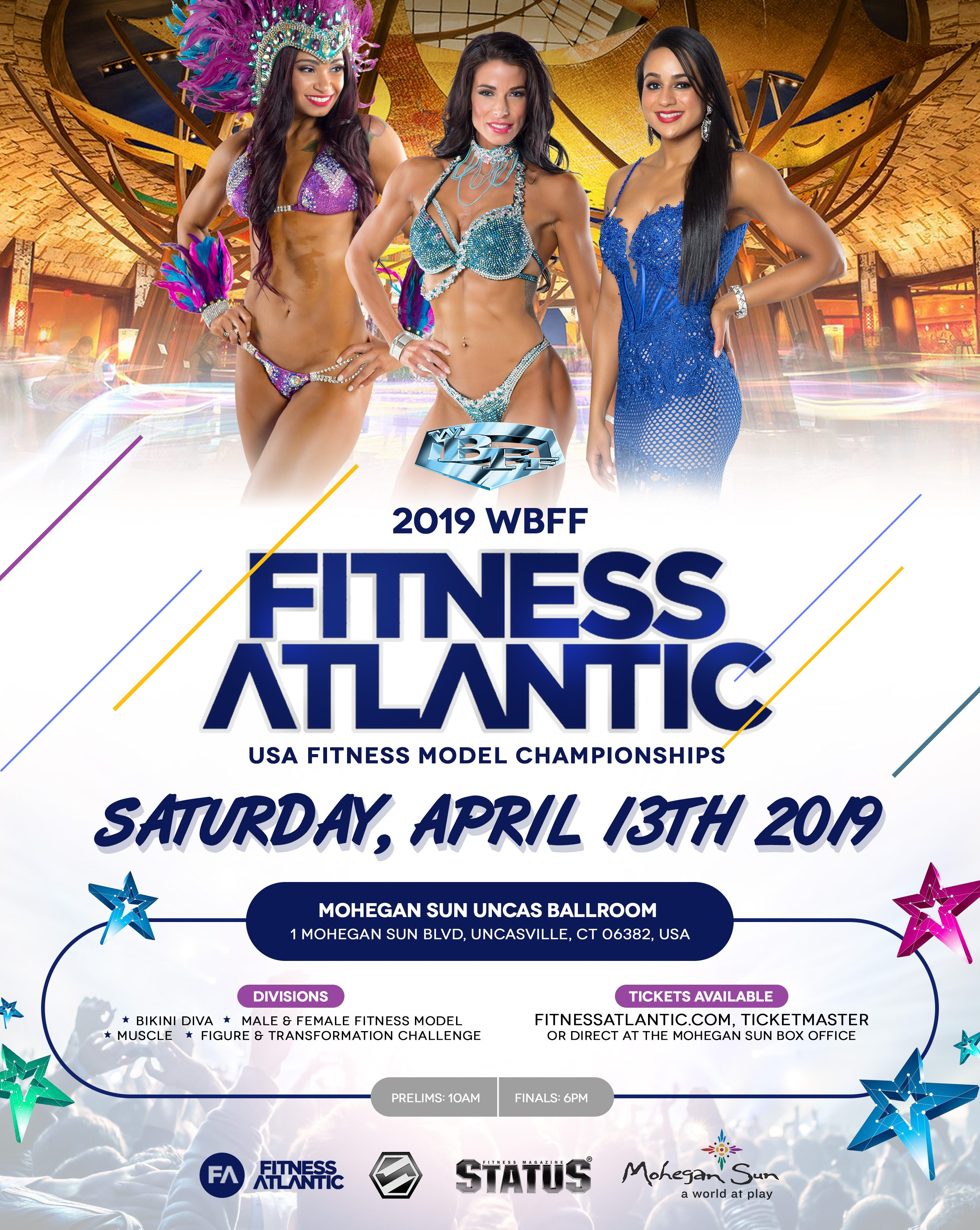 Tickets | Fitness Atlantic Offers the Best in Fitness Model Competition