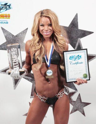 Vanessa Spence-Trophy